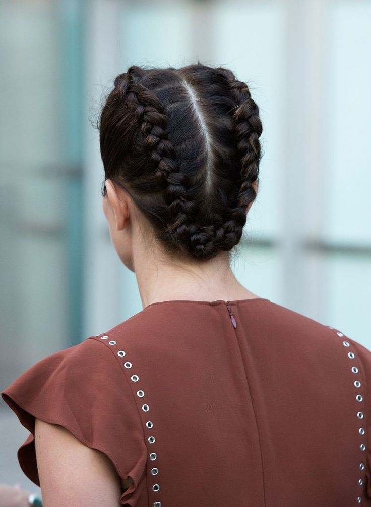 The easiest way to stay cool in the summer? Get your hair off your neck, like these Dutch braids. Here's how.