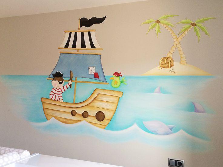 Mural pirata