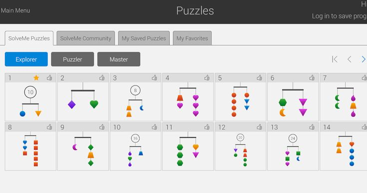 Solve Me Puzzles is a free site provided by the nonprofit Education Development Center. The site offers free math puzzles for students to...
