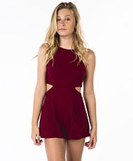 Ava And Ever Girls Cut Out Playsuit