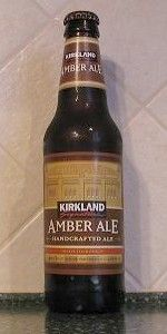 Kirkland Signature Amber Ale. I know, right?! Costco?! Hey, I was impressed. Kirkland's amber ale is good beer and doesn't cost much.