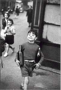Paris, 1954.  Cartier- Bresson