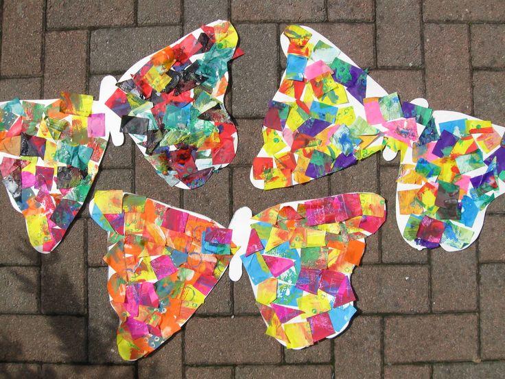 Hungry Caterpillar Style Butterflies