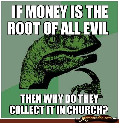 Essay on money is the root cause of all evil