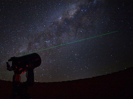 Stargazing at Sossusvlei-Desert-Lodge - the Namib-Rand is one of the 10 darkest places on Earth and so has some of the best stargazing in the world!