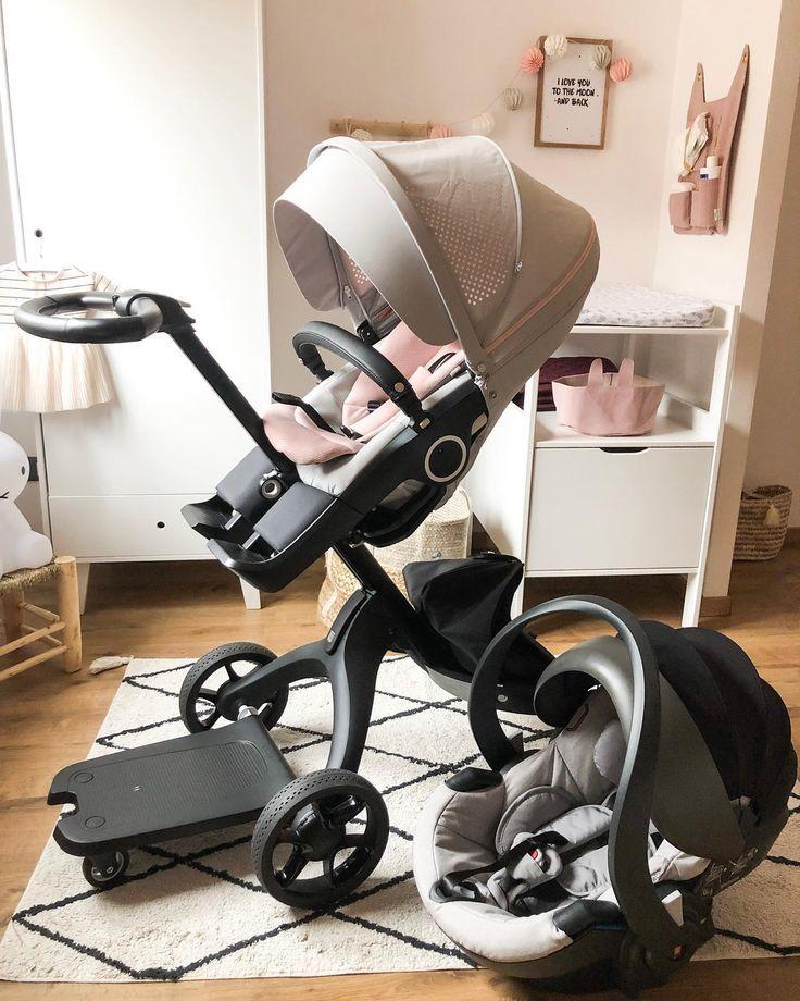 Als Stokke-Kinderwagen kann #StokkeXplory mit unseren Autositzen kombiniert werd…