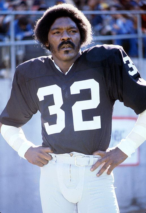 "My favorite Raider of all time; Jack ""The Assassin"" Tatum. #32 R.I.P."