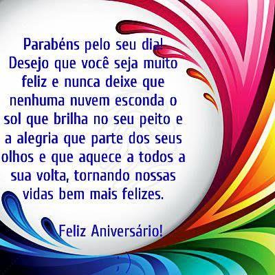Parabéns pelo seu dia... Desejo que você seja muito feliz #felicidades #feliz_aniversario #parabéns