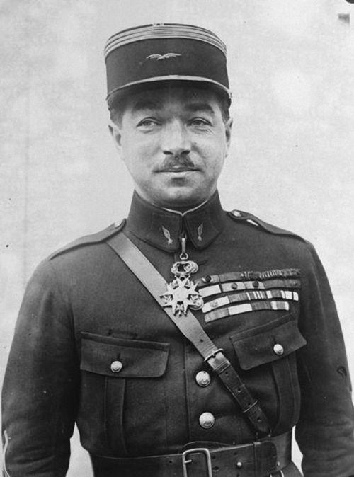 René Paul Fonck. Aviateur français.