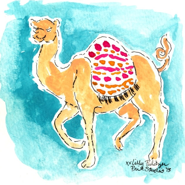 It's Hump Day! Which means we are THAT much closer to the weekend. Here's to wishful thinking! #lilly5x5