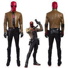 Batman Jason Todd Red Hood Cosplay Costume