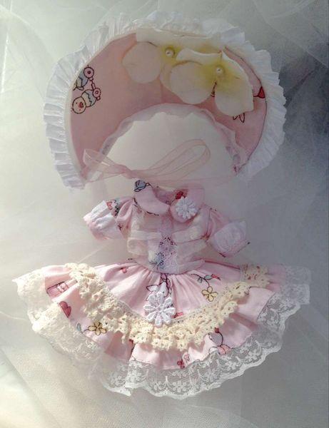 [Дом] Леди Джейн azone6 Blythe маленький ткань Licca сладкий принцессы платье звезды 1/6