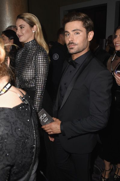 Zac Efron Photos - Shailene Woodley and Zac Efron attend The 75th Annual Golden Globe Awards at The Beverly Hilton Hotel on January 7, 2018 in Beverly Hills, California. - 75th Annual Golden Globe Awards - Press Room