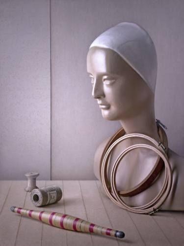 "Saatchi Art Artist Raffaello Benedetti Brà; Photography, ""The Embroiderer"" #art"