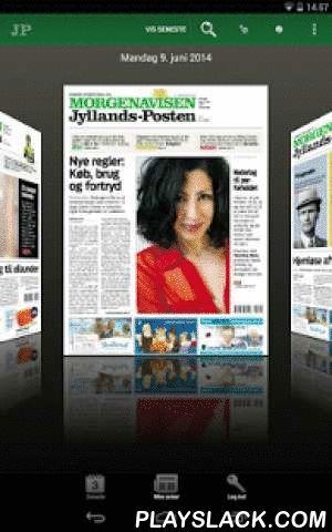 Morgenavisen Jyllands-Posten  Android App - playslack.com , Jyllands-Postens e-avis app er Jyllands-Posten, som du kender den – en 100% udgave af dagens avis og endda med flere fordele: Dagens udgave er tilgængelig allerede fra kl. 23.00 dansk tid aftenen før udgivelsesdato, uanset hvor i verden du er. Er du allerede abonnent på Jyllands-Posten (gælder dog ikke JP Basic-abonnenter), har du adgang til e-avisen på samme dage, som du normalt får avisen. Dagens e-avis koster 25 kr. og 249 kr…