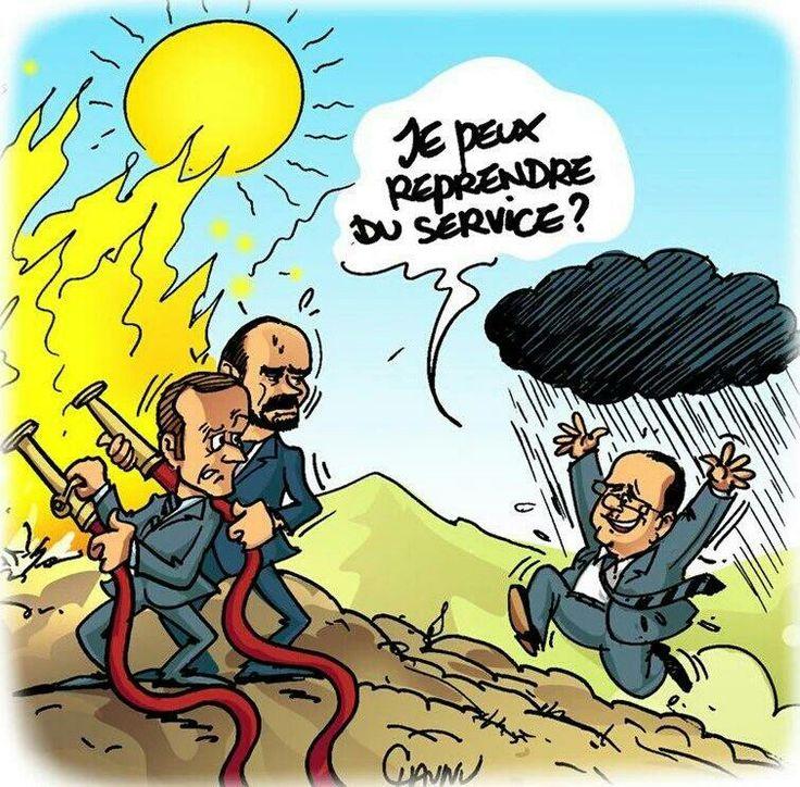 Chaunu (2017-07-26) France: François Hollande peut donner un coup de main - Emmanuel Macron,  Édouard Philippe ÷÷  (Par @ChaunuShow)