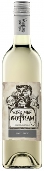 "Wine Men of Gotham Pinot Grigio  James Halliday Wine Companion:      ""Clearly the best of the wines in the Wine Men of Gotham Range, which is ironic; zesty and crisp, it is in truth a halfway house between gris and grigio; obviously, outstanding value."""