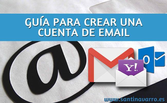 Accede a esta guía y conoce cómo abrir una cuenta de correo electrónico en Google, Hotmail o Yahoo. Servicios de email gratuito. http://www.santinavarro.es/como-abrir-correo-electronico-google-hotmail-yahoo/