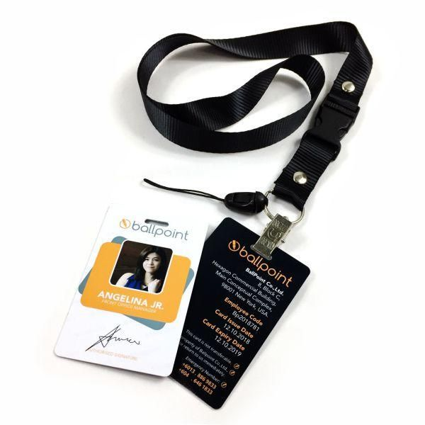 Lanyard Id Card Printing Supplier Malaysia Neckstrap Id Card Wholesaler Printed Cards Employees Card Cards