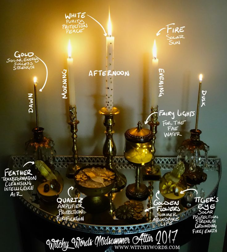 To see my 2015 Midsummer / Litha / Summer Solstice altar, click here! For all altars, click here! Midsummer celebrates the longes...