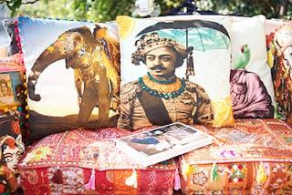 Boho pillows from India