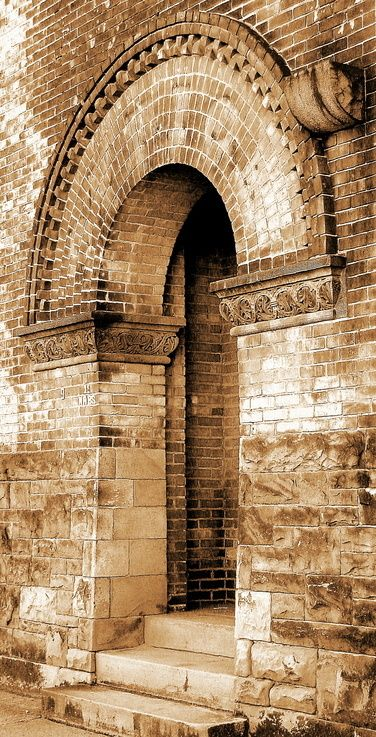 Beautiful arch on the Erie Canal in Rochester, NY