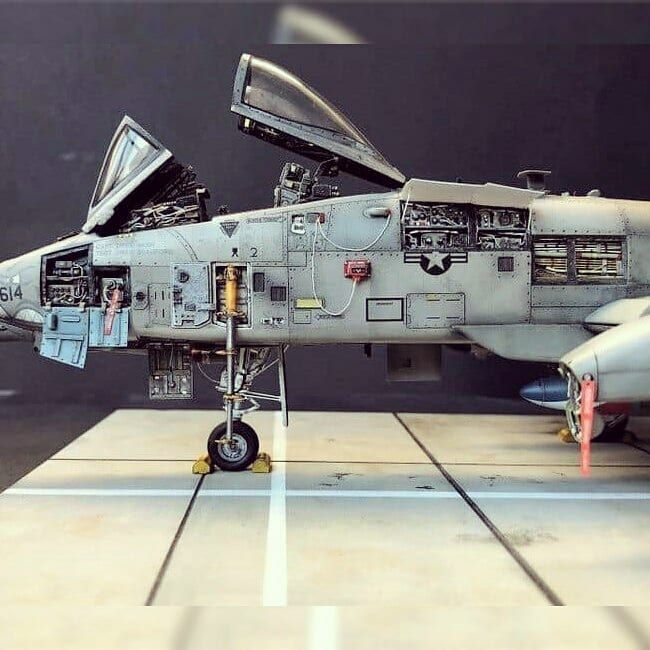Usina Dos Kits On Instagram Beautiful Model A 10 Warthog Us Air Force From 3d Army Scale Modeling Plasti Aircraft Design Model Airplanes Thunderbolt