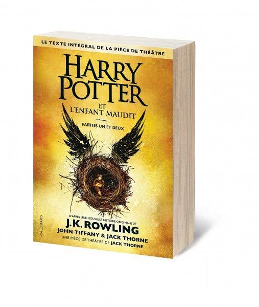 Livre Harry Potter et l'enfant maudit