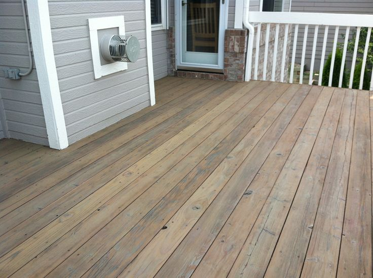 semi transparent deck stain - Cabot stain in Taupe