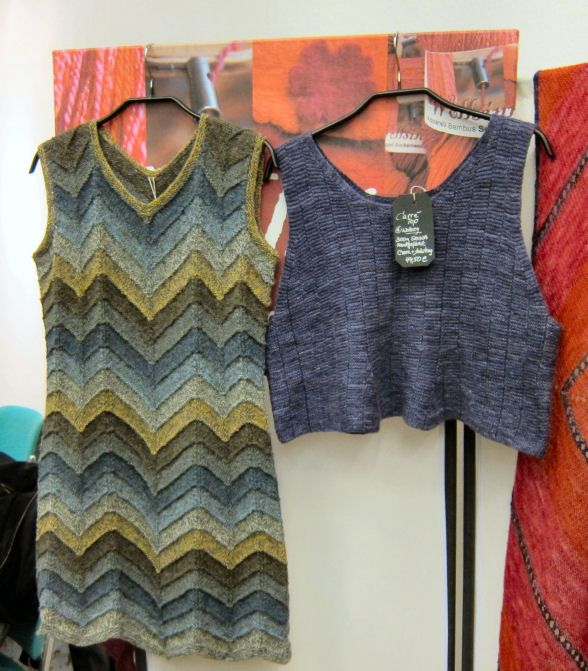 Marianne Isager - love the chevron dress