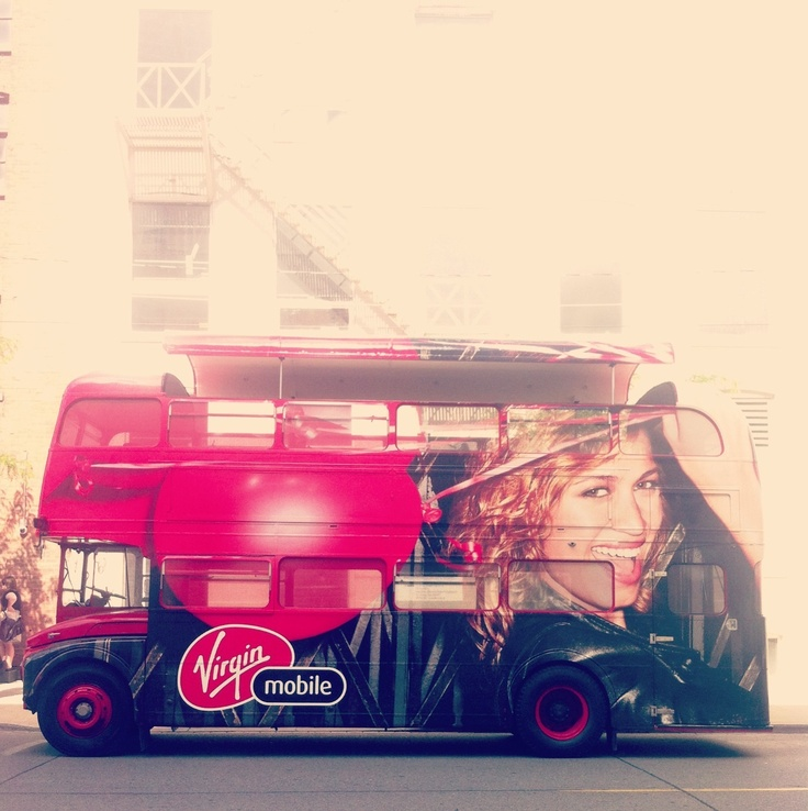 Need a lift? Virgin Mobile's double-decker bus is popping up at the hottest music festivals and events across Canada.
