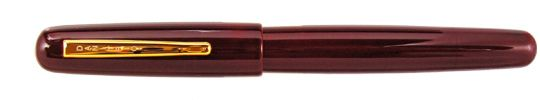 Danitrio Densho Tame-Nuri -The base color is supposed to show through over time as the pen gets used and the outer layer of paint becomes more transparent. To me, this typifies Japanese pens, beautiful craftsmanship and simplicity.