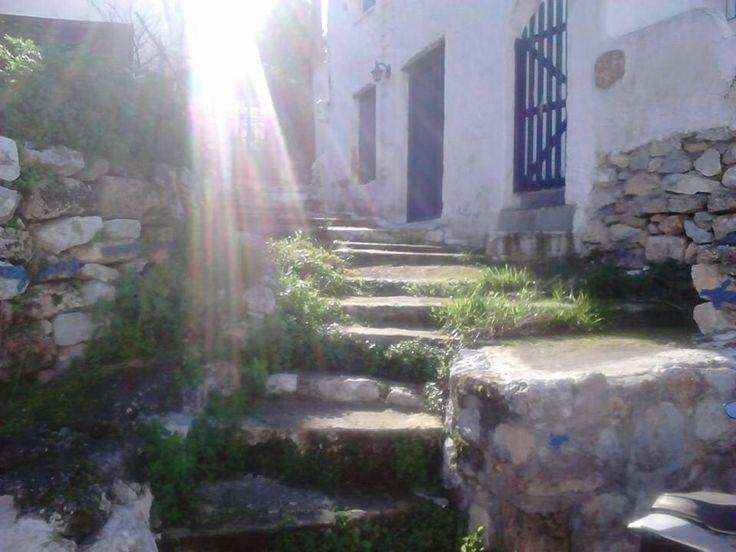 Metochi steps, Agistri