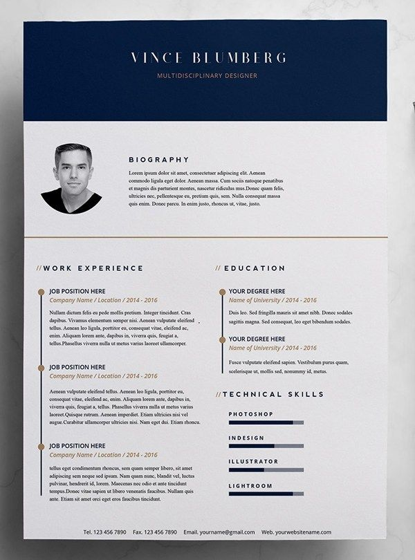 Pin On Cv Templates Free Download