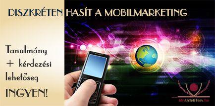 """Mára az emberek 60%-a mobilról netezik… tudtad??? Töltsd le most az ingyenes """"Diszkréten hasít a mobilmarketing"""" című anyagunkat, melyből megismerheted a mobilmarketing világát, eszközeit, használatát."""