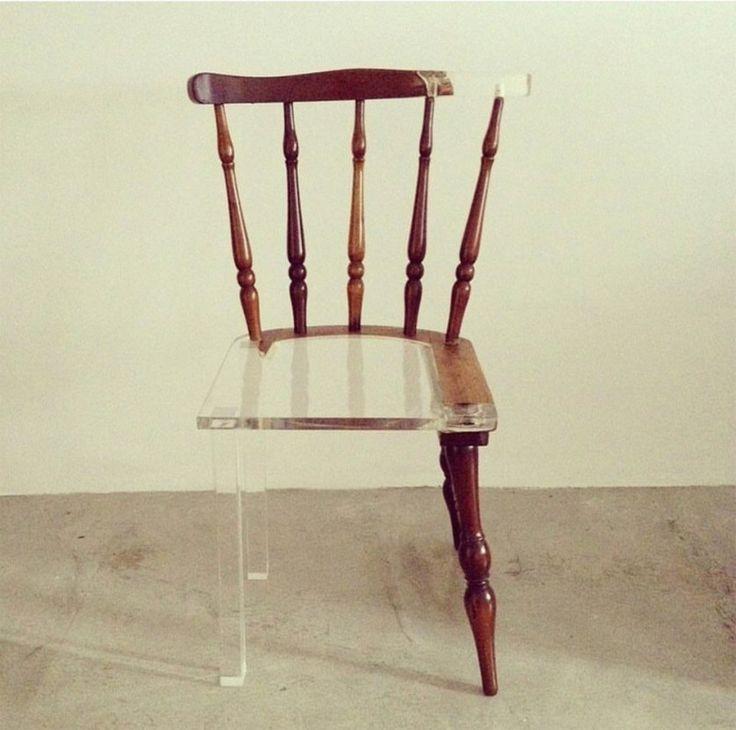 Необычная мебель с акриловой смолой