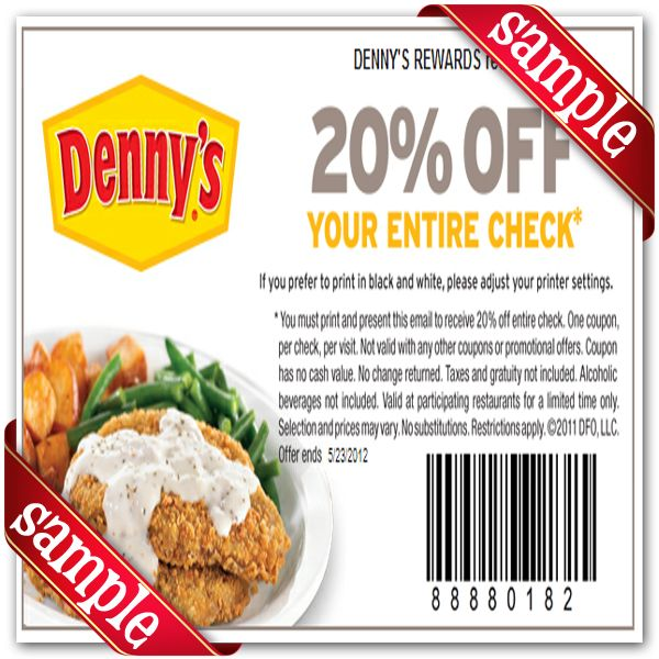 Local restaurant coupons