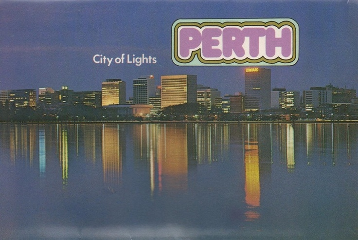 Perth postcard from the 1970s.