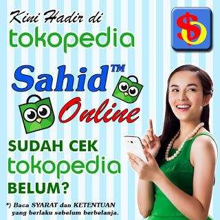 tokopedia sahid online
