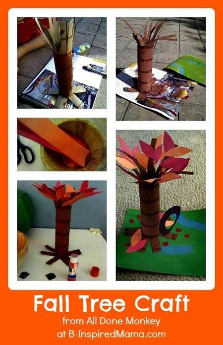 Fall Tree Craft 1