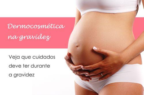 Cremes rosto e corpo durante a gravidez