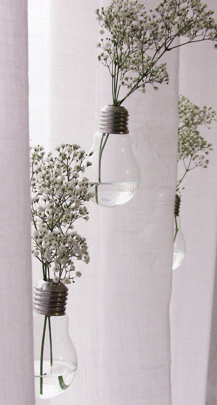 A Creative Blond Girl - soliflores - vases - ampoules - ampoule - diy - tuto -tutoriel - recup - recuperation - do it yourself - fleurs - flowers - idees deco - blog - lifestyle