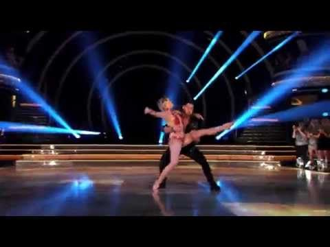 """Julianne Hough Goes Nearly Nude (With Bro Derek!) on """"DWTS ..."""