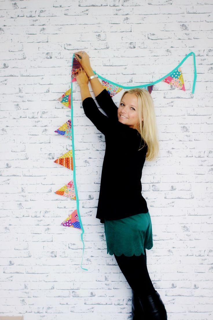 Pech&Schwefel: Einsteigerprojekt - Wie nähe ich eine Wimpelkette