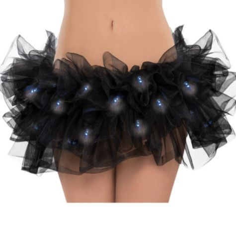 For our night runs! Light-Up Black Tutu for Adults - Party City
