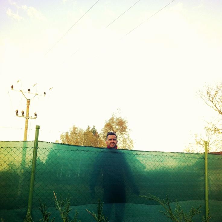 Gáborík za zeleným plotom