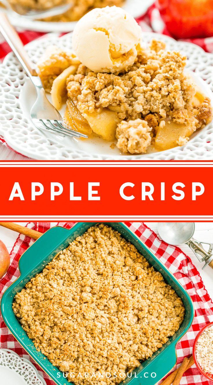 Caramel Apple Crisp Recipe Apple crisp easy, Caramel
