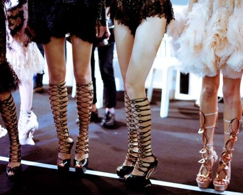 still on them gladsShoes, Fashion Weeks, Alexander Mcqueen, Mcqueen Ss2012, Morgan Odonovan, Mcqueen Spring, Legs, Style Guide, Backstage