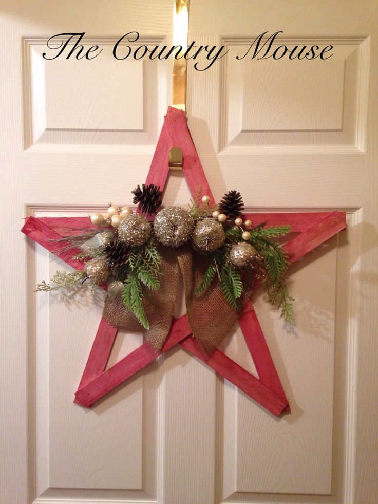 Christmas rustic star