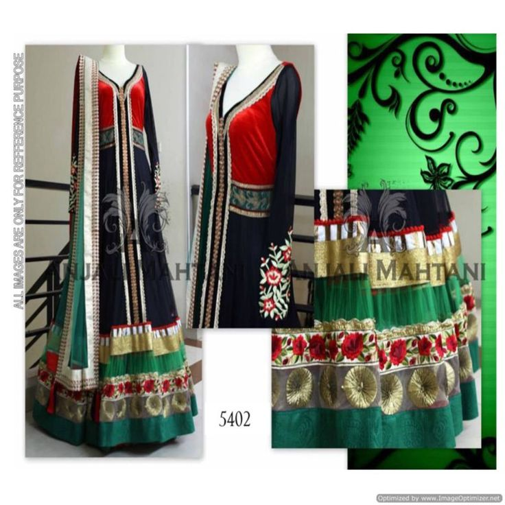 New Arrival Multi Color Latest Anarkali Gown With Dupatta